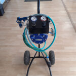 ECCO madalsurve vedelvärvi komplekt(diafragma pump, ratastel) 870.-eur+km
